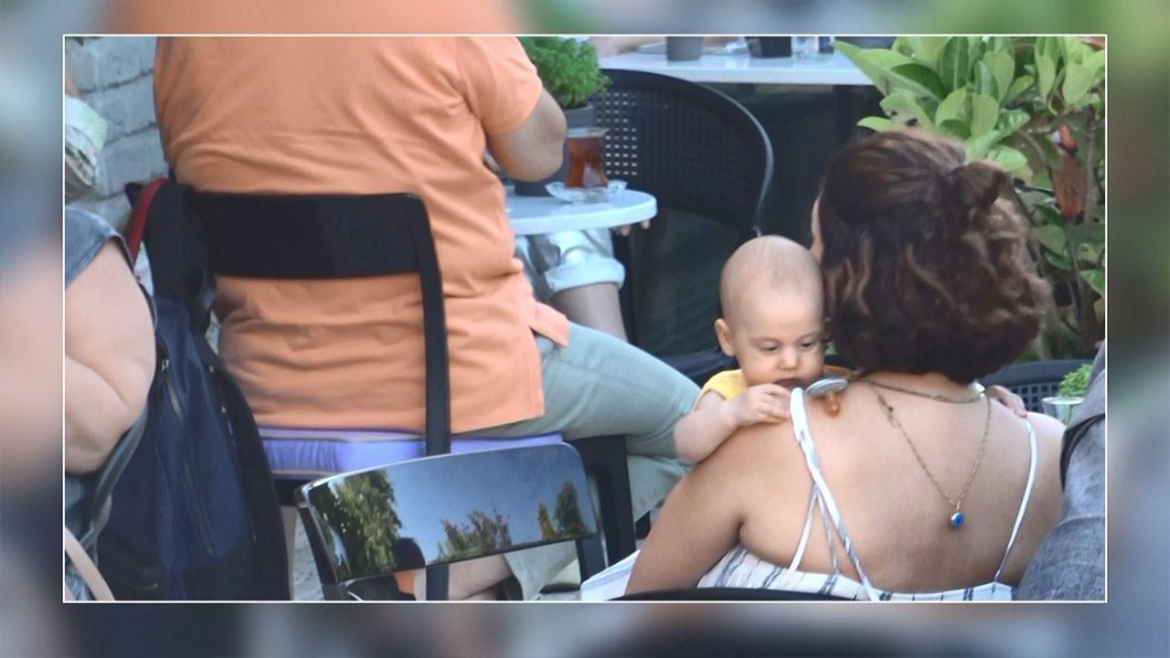 Ünlü çiftin bebekleri ilk kez görüntülendi