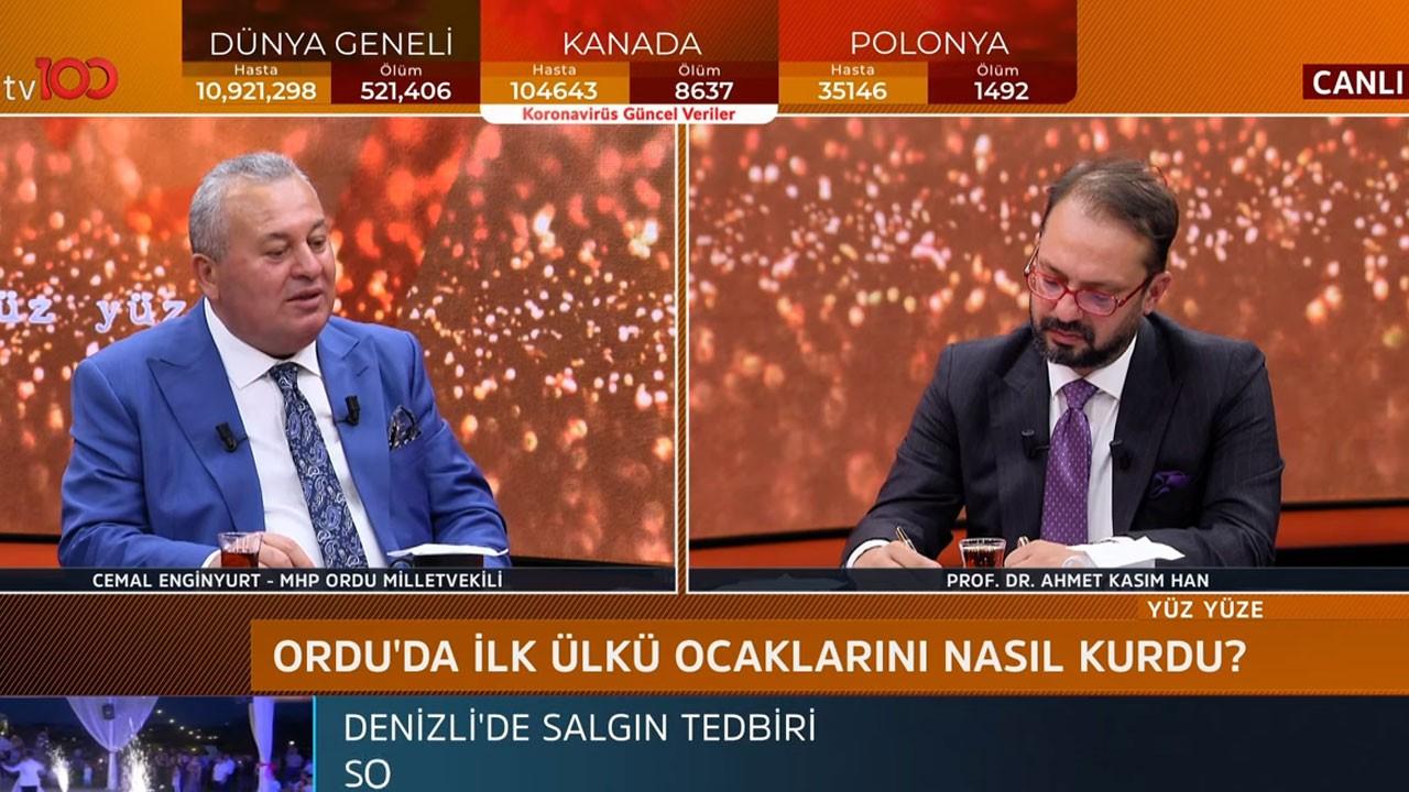 Ahmet Kasım Han ile Yüz Yüze   2 Temmuz 2020