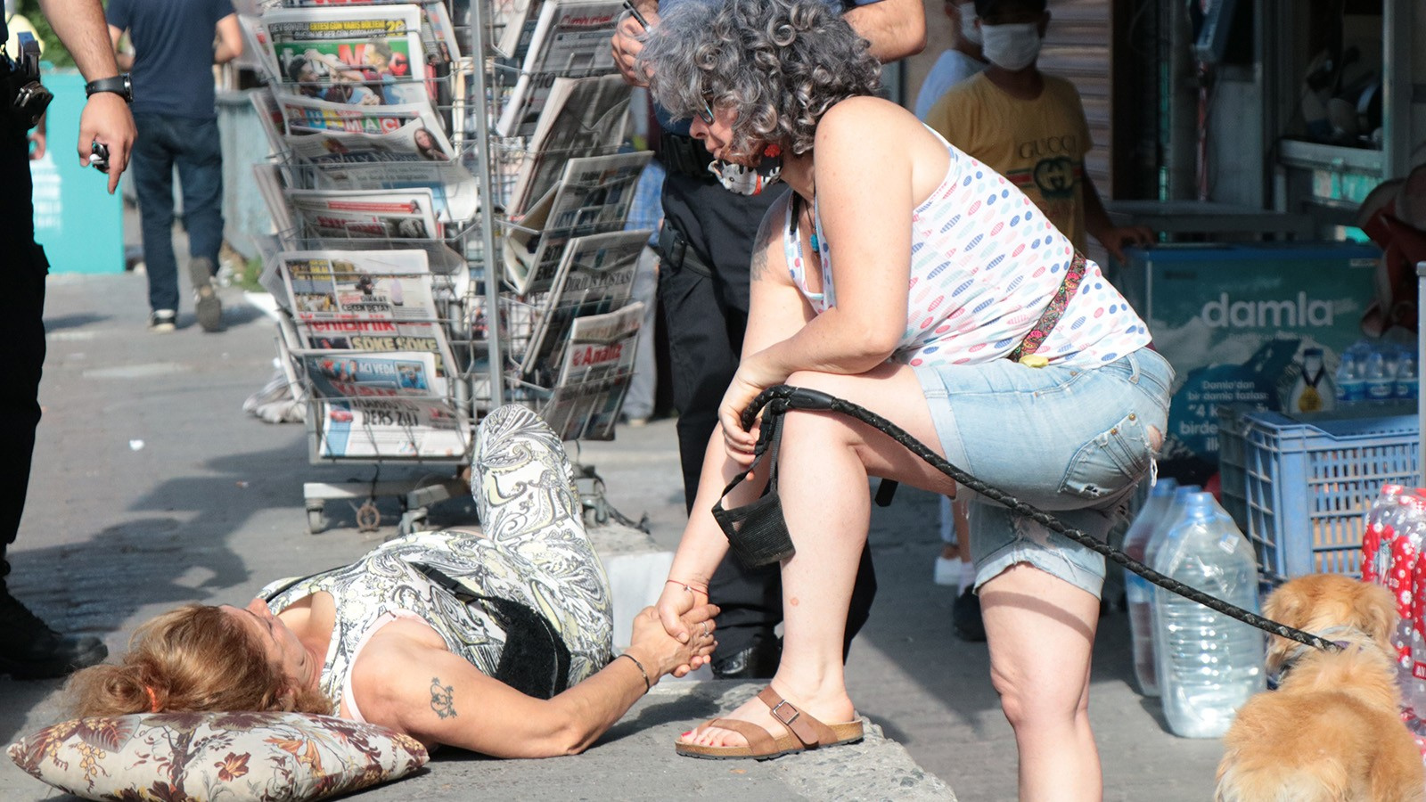 Yine sevgili dehşeti! Cadde ortasında vurdu!