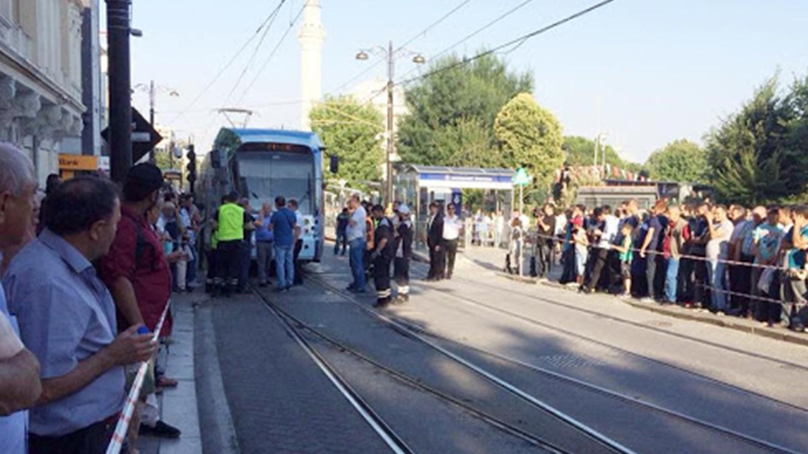 Tramvay arıza yaptı, seferlerde aksamalar yaşandı!