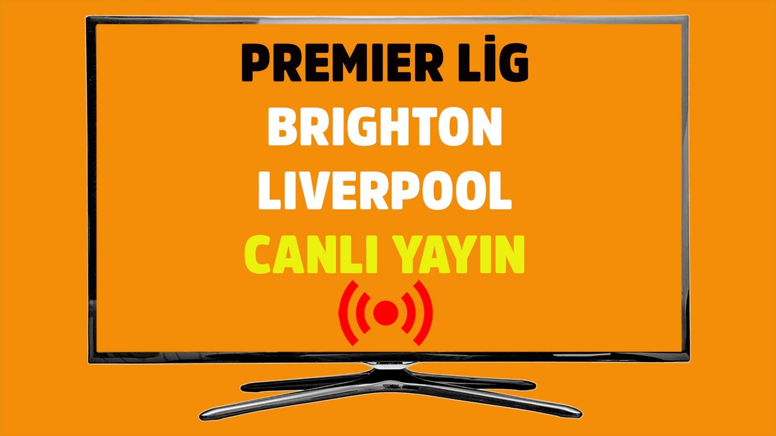 Brighton - Liverpool CANLI