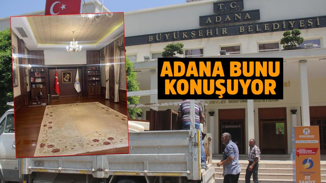 Adana Büyükşehir Belediyesi'nde haciz!