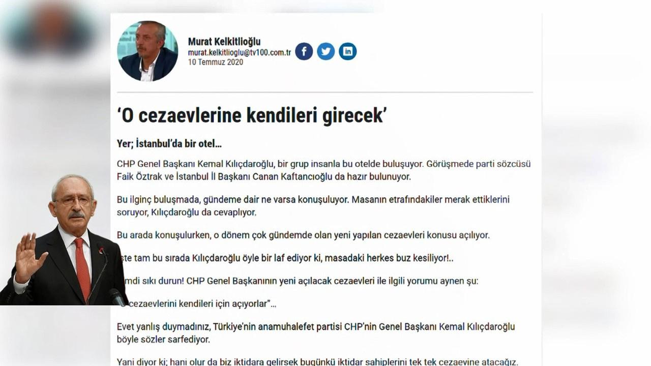 Murat Kelkitlioğlu'ndan gündem yaratan yazı
