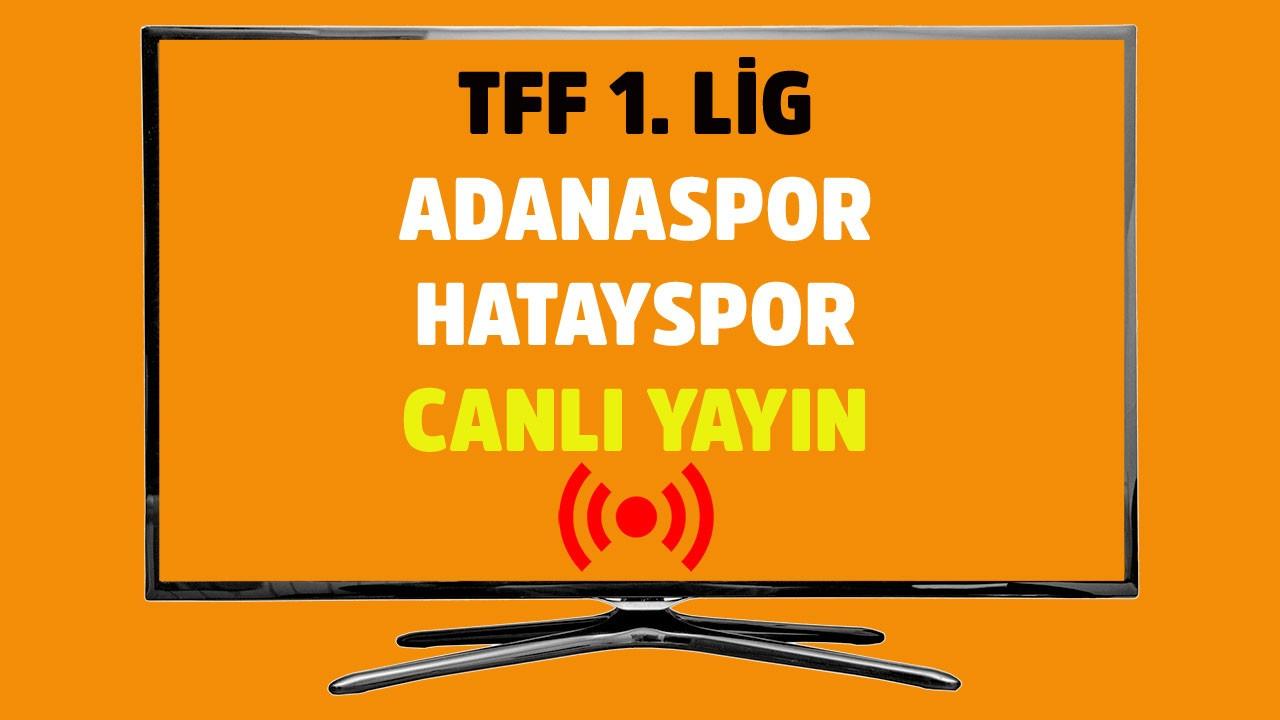 Adanaspor - Hatayspor  CANLI