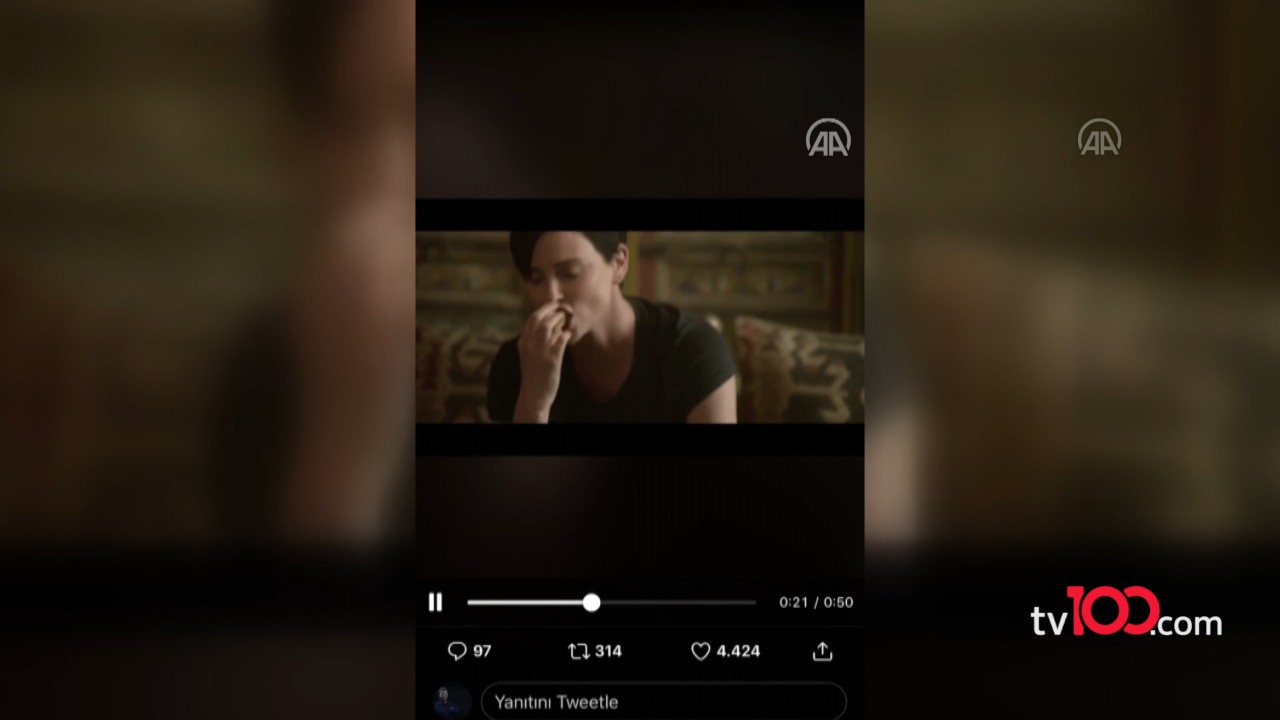 Charlize Theron baklava yedi, Gaziantep sallandı