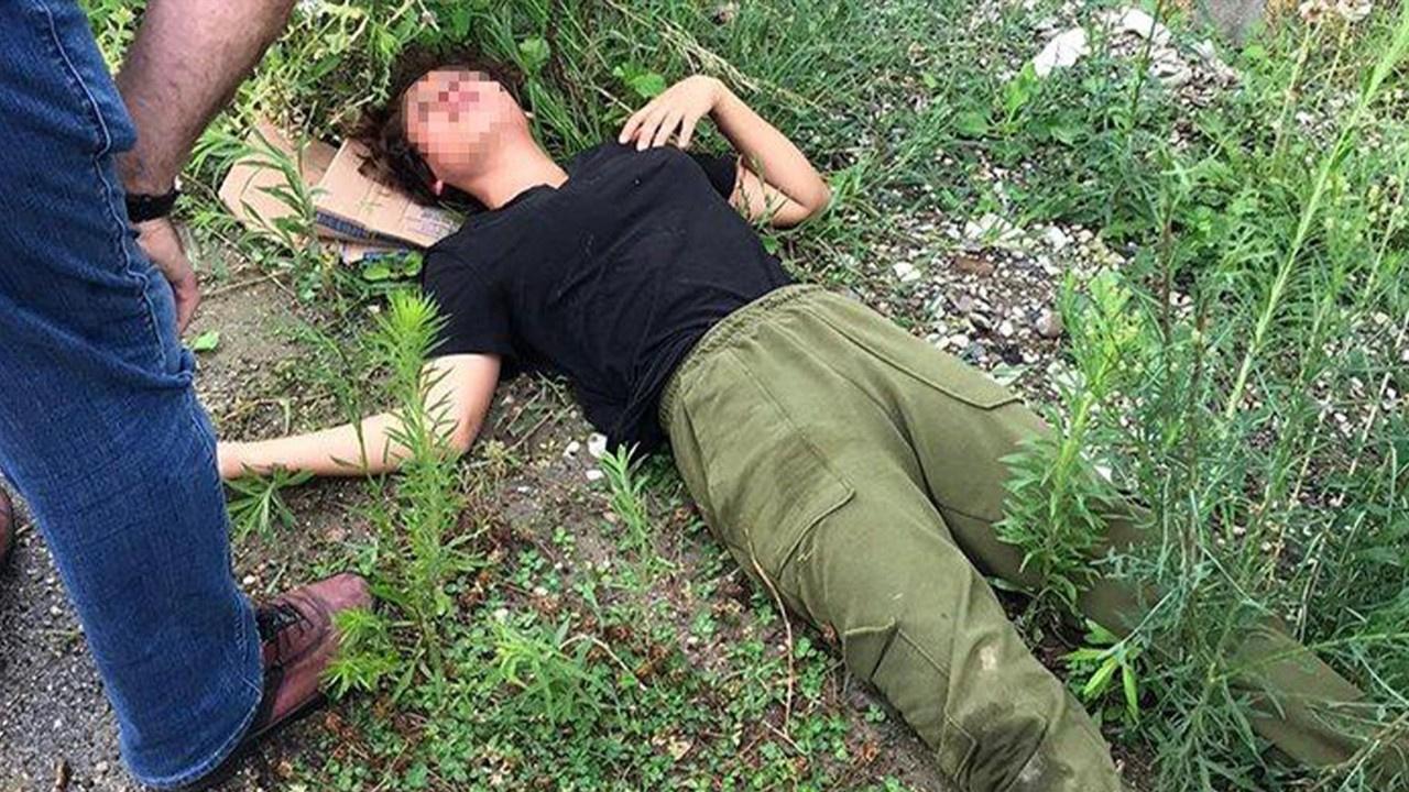 Genç kızı öldüresiye dövüp yol kenarına attılar!