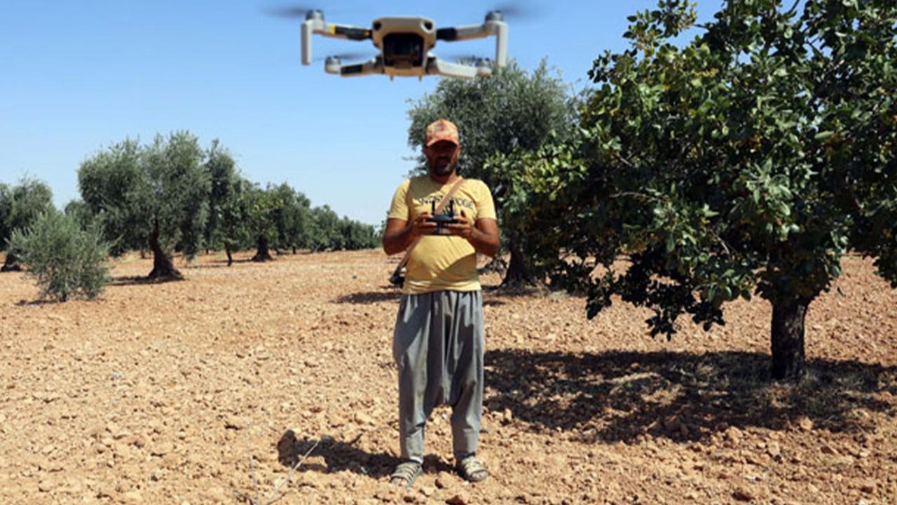 Antep fıstığı nöbetinde 'drone'lu dönem