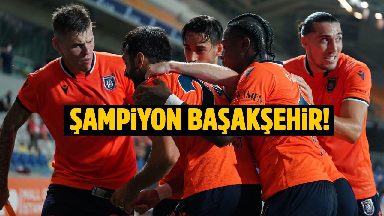 Başakşehir Şampiyon!