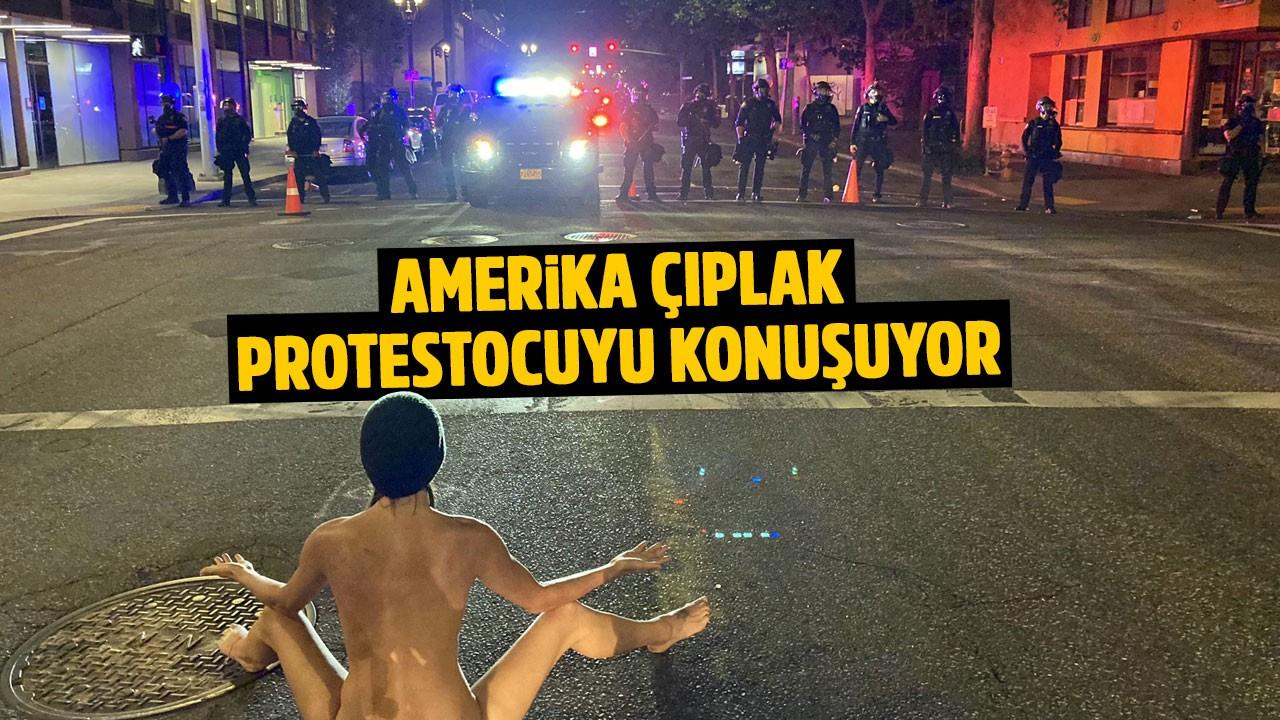 Böyle protesto görülmedi!