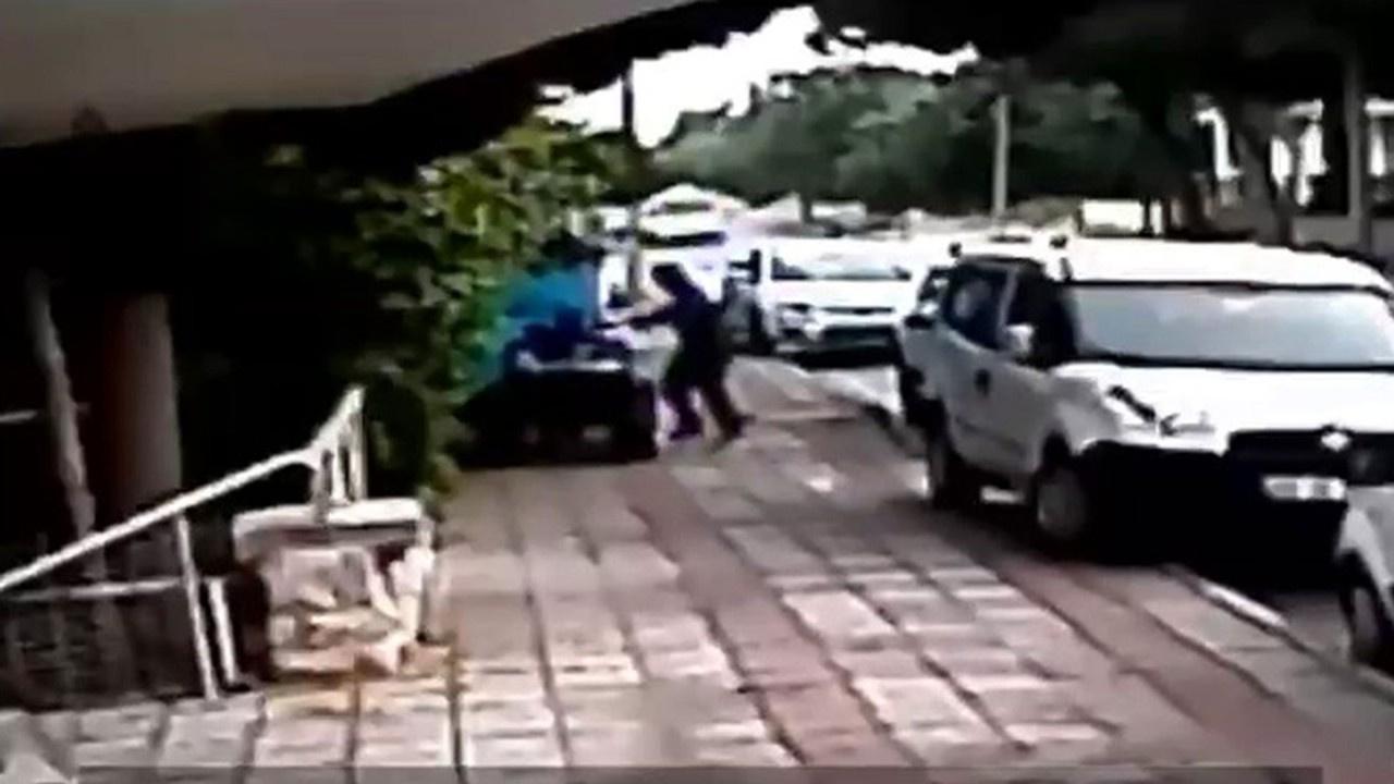 Şaşkına çeviren hırsızlık olayları kamerada