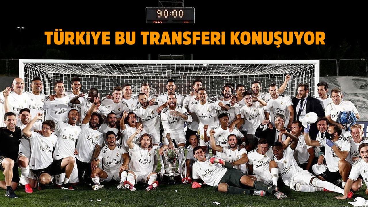 Başakşehir'den Real Madrid'e sürpriz transfer
