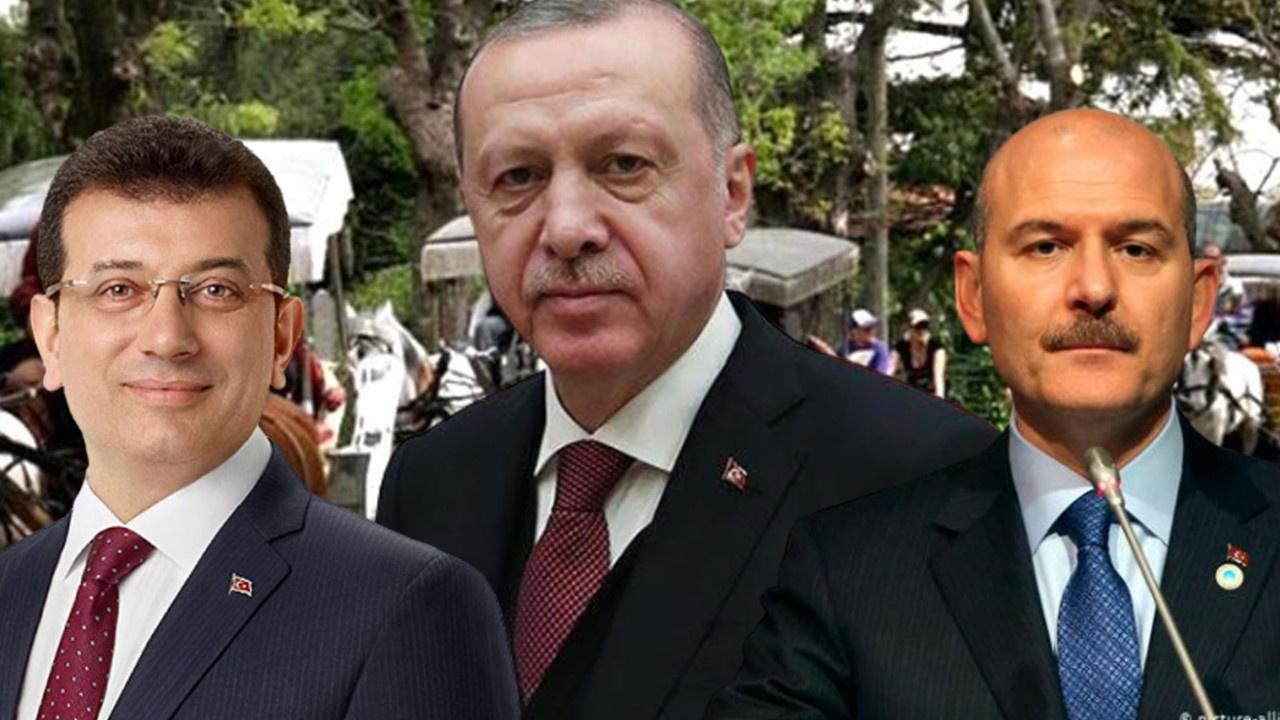 İmamoğlu Soylu'yla görüşürken Erdoğan bağlandı