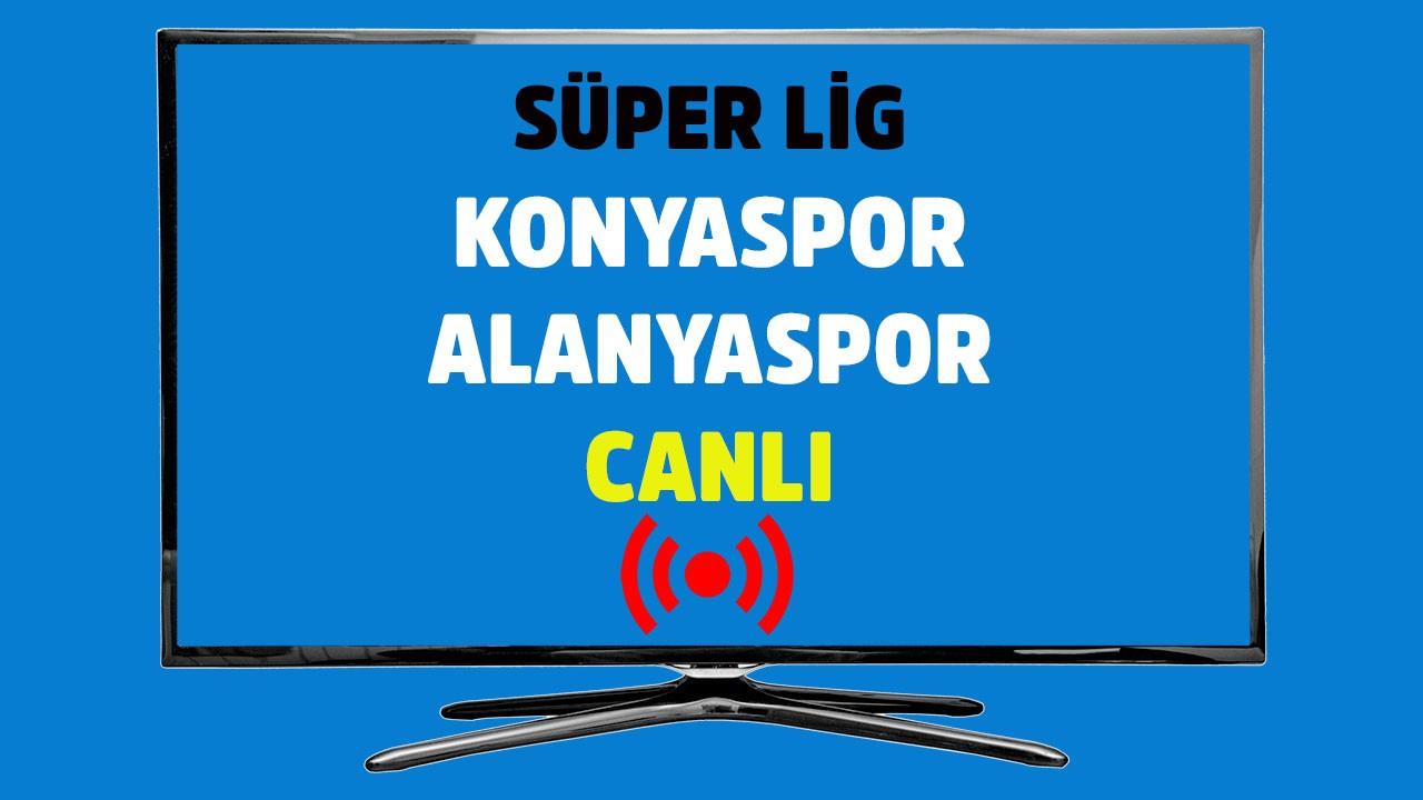 Konyaspor - Alanyaspor CANLI