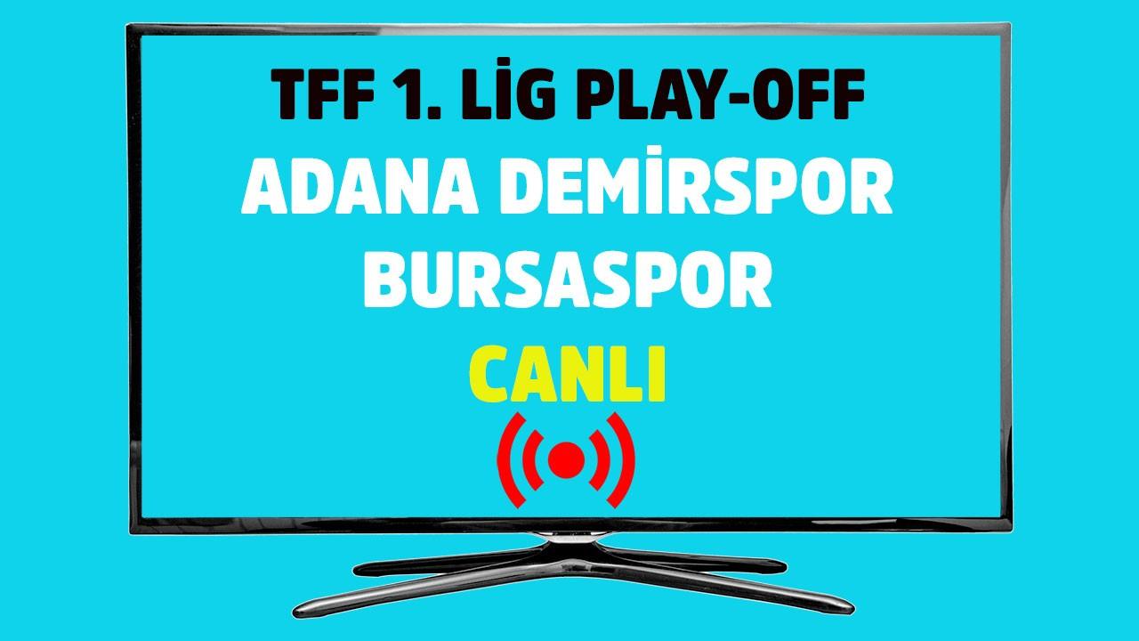 Adana Demirspor - Bursaspor CANLI