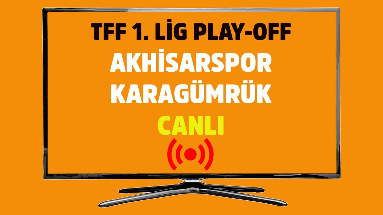 Akhisar - Karagümrük CANLI