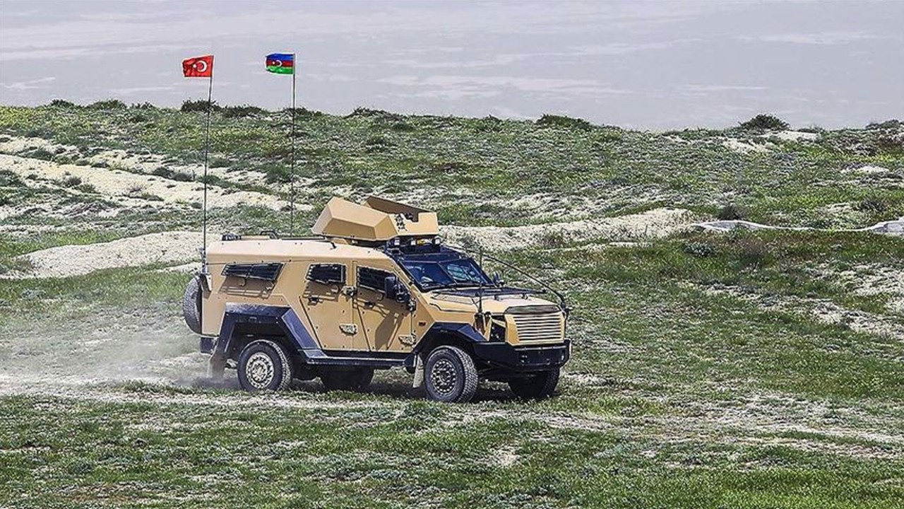 Türk ve Azerbaycan ordulardan ortak tatbikat