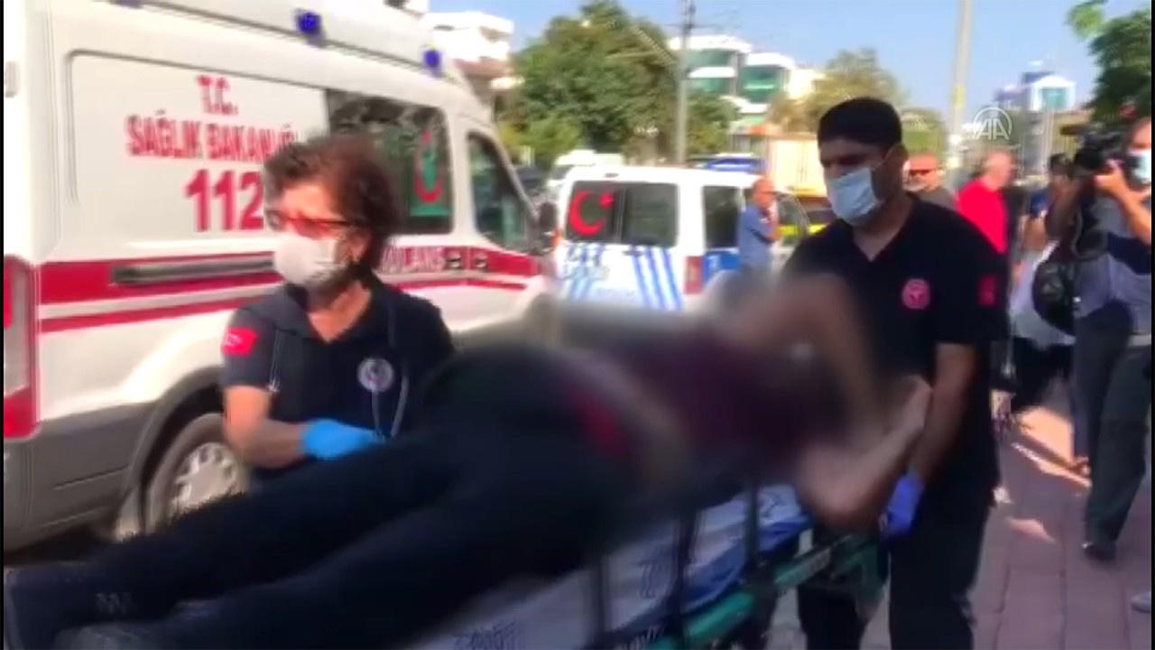 Polis merkezi önünde silahlı saldırı