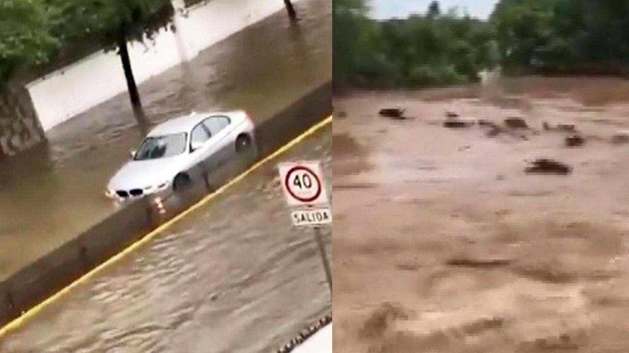 Hanna Kasırgası, Meksika'yı vurdu