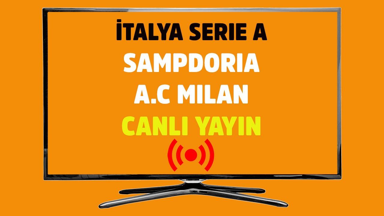 Sampdoria - Milan CANLI