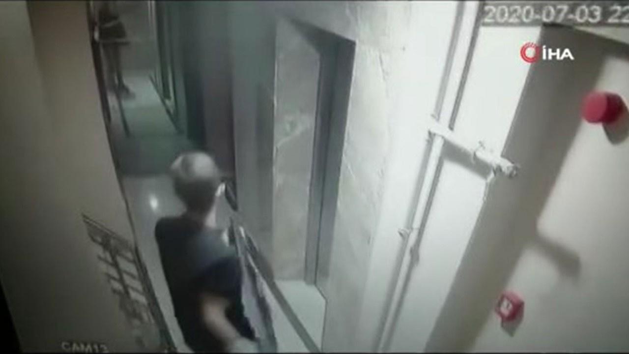 6 bin liralık televizyon hırsızlığı kamerada