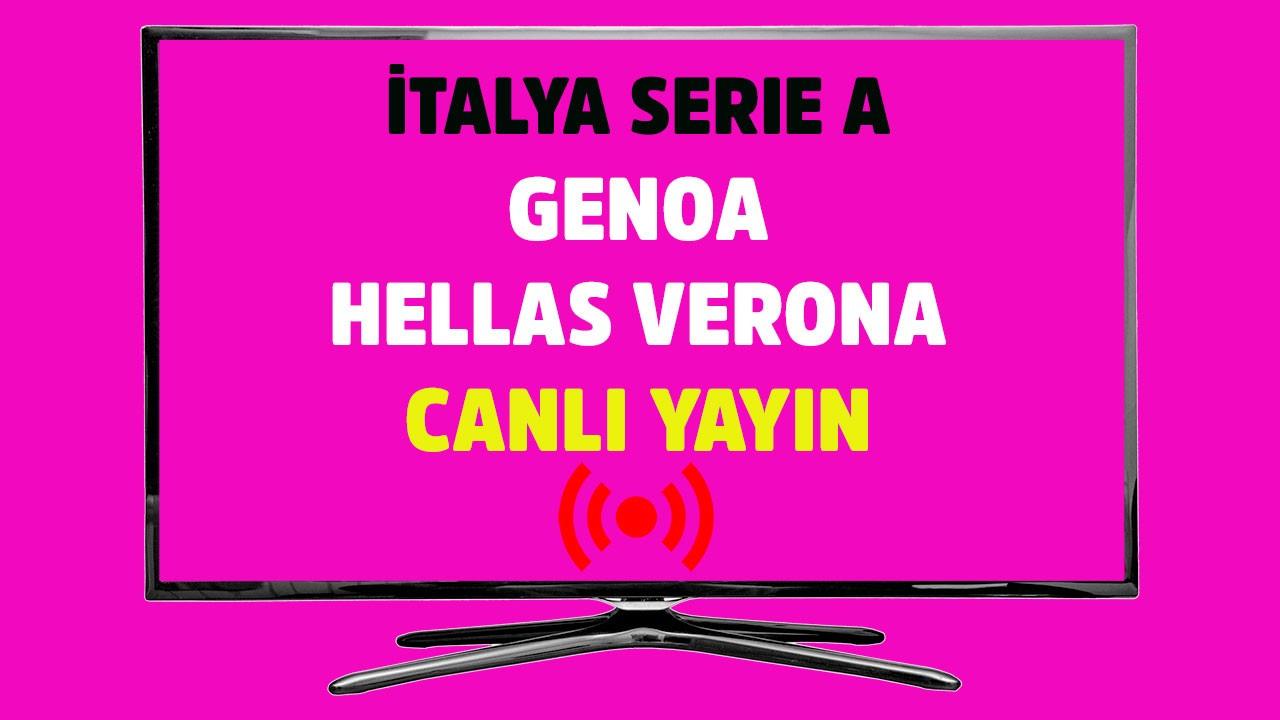 Genoa - Hellas Verona CANLI