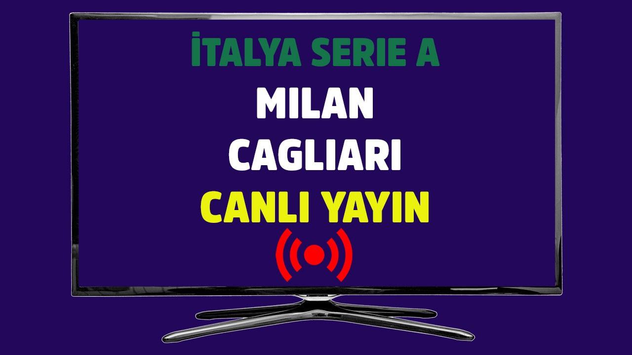 Milan - Cagliari CANLI