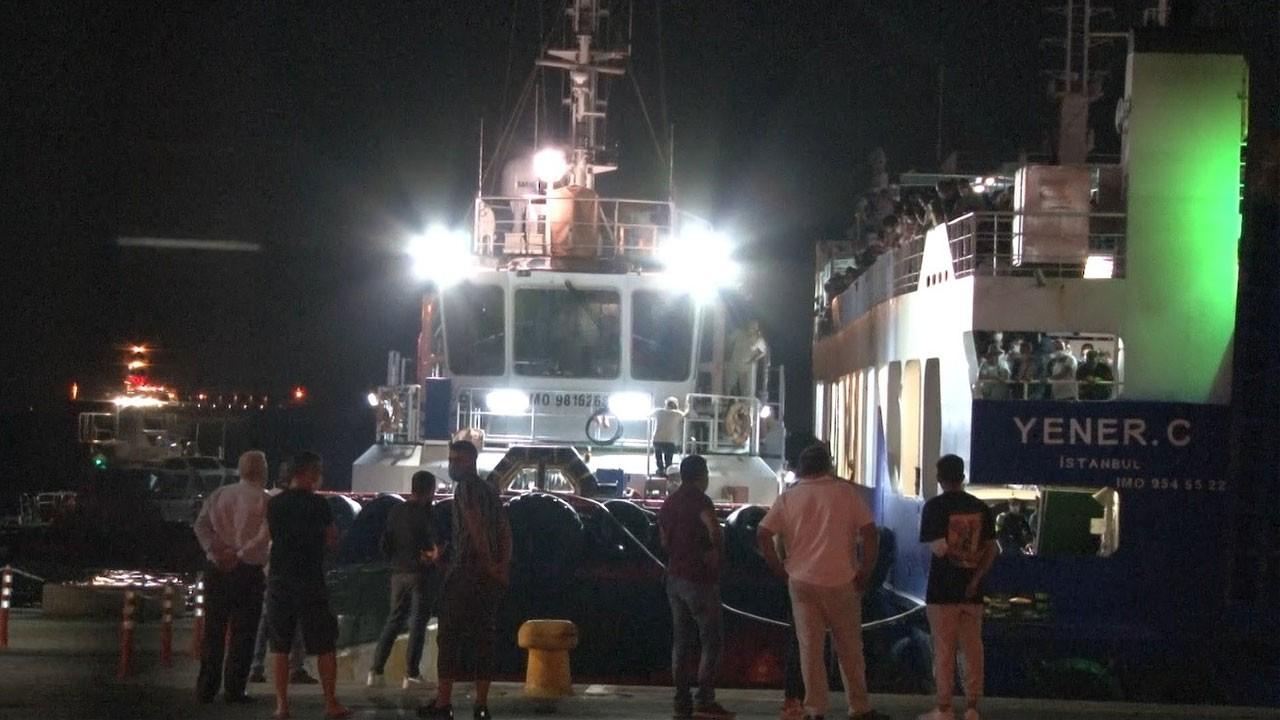 Marmara Denizi'nin ortasında mahsur kaldılar!