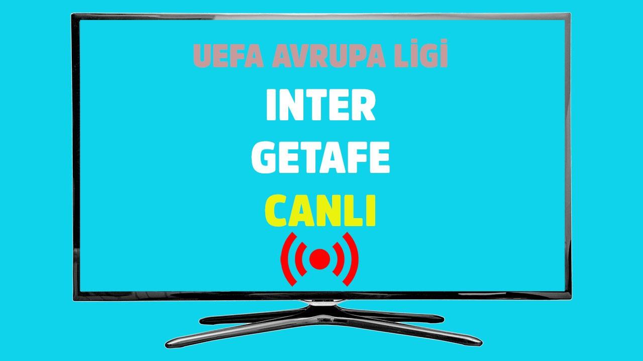 Inter - Getafe CANLI