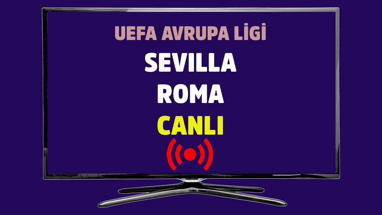 Sevilla - Roma CANLI