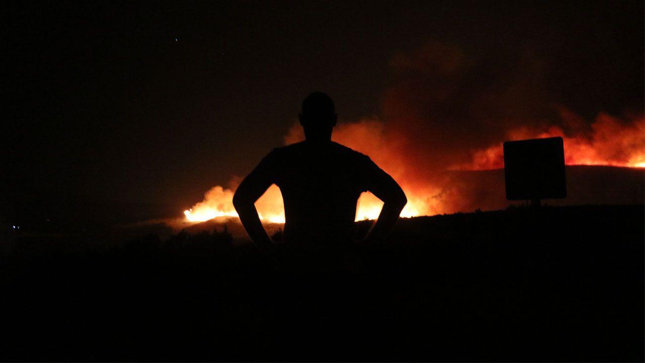 Çeşme'de korkutan yangın!.. 4 site boşaltıldı! - Sayfa 1