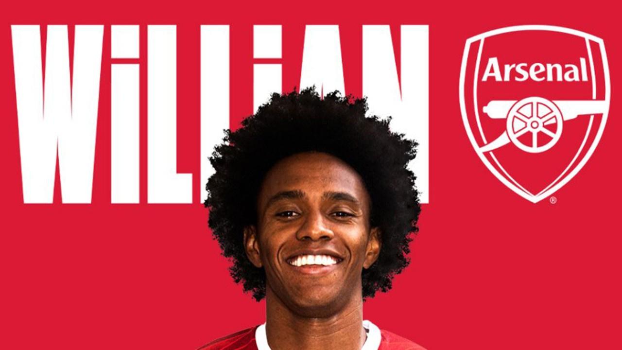 Ve Willian Arsenal'da