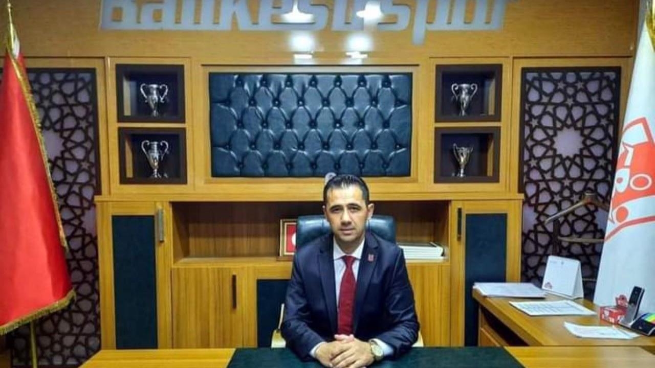 Balıkesirspor'un yeni başkanı Ümit Arslan