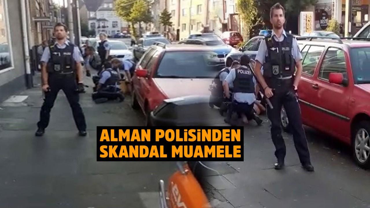 Türk gence George Floyd şiddeti