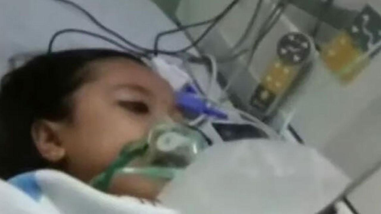 Hastanede ölen çocuk, cenazede canlandı