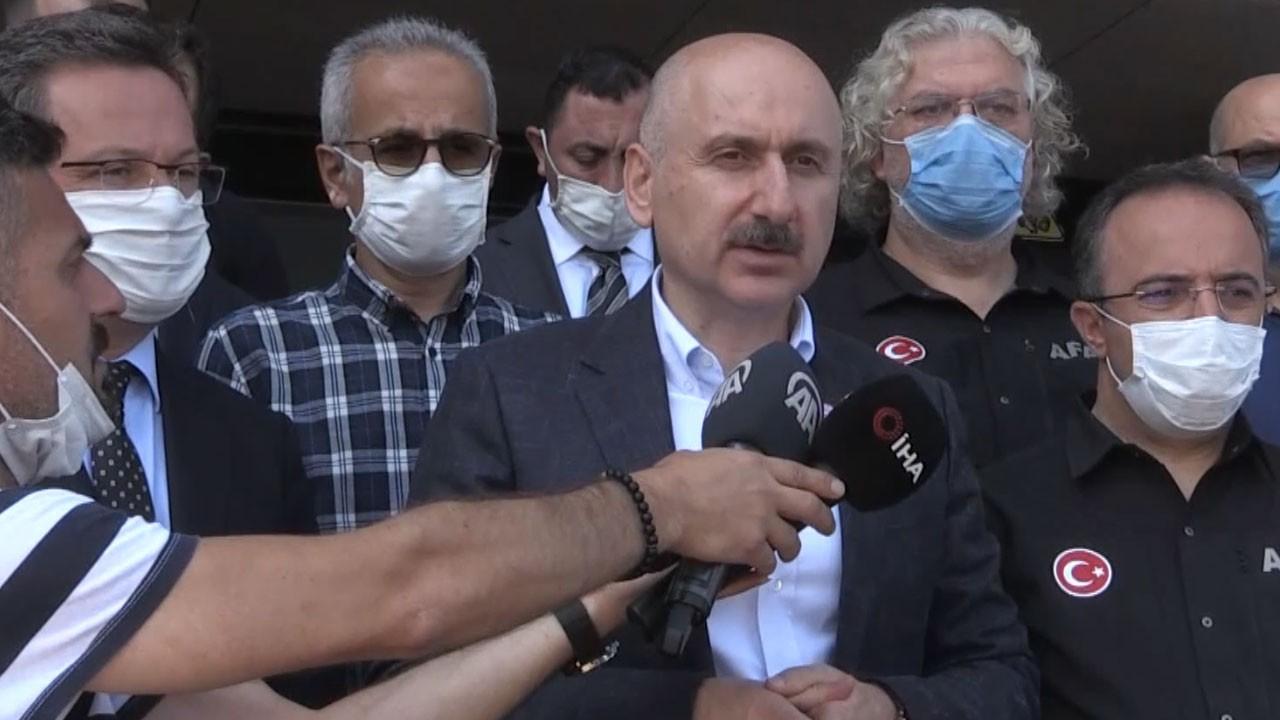 İhracat treni Erzurum'a ulaştı