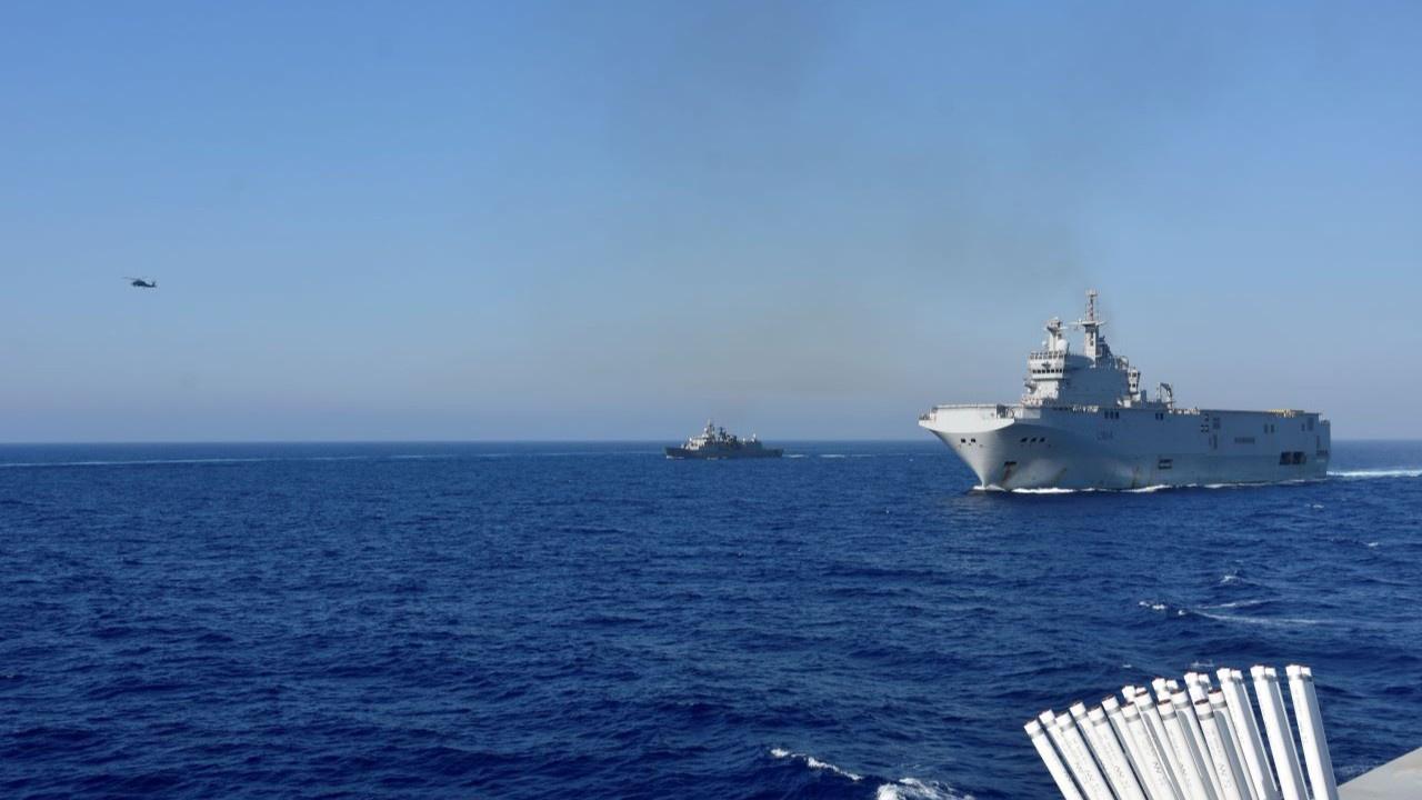 Doğu Akdeniz'de 4 ülkeden ortak tatbikat