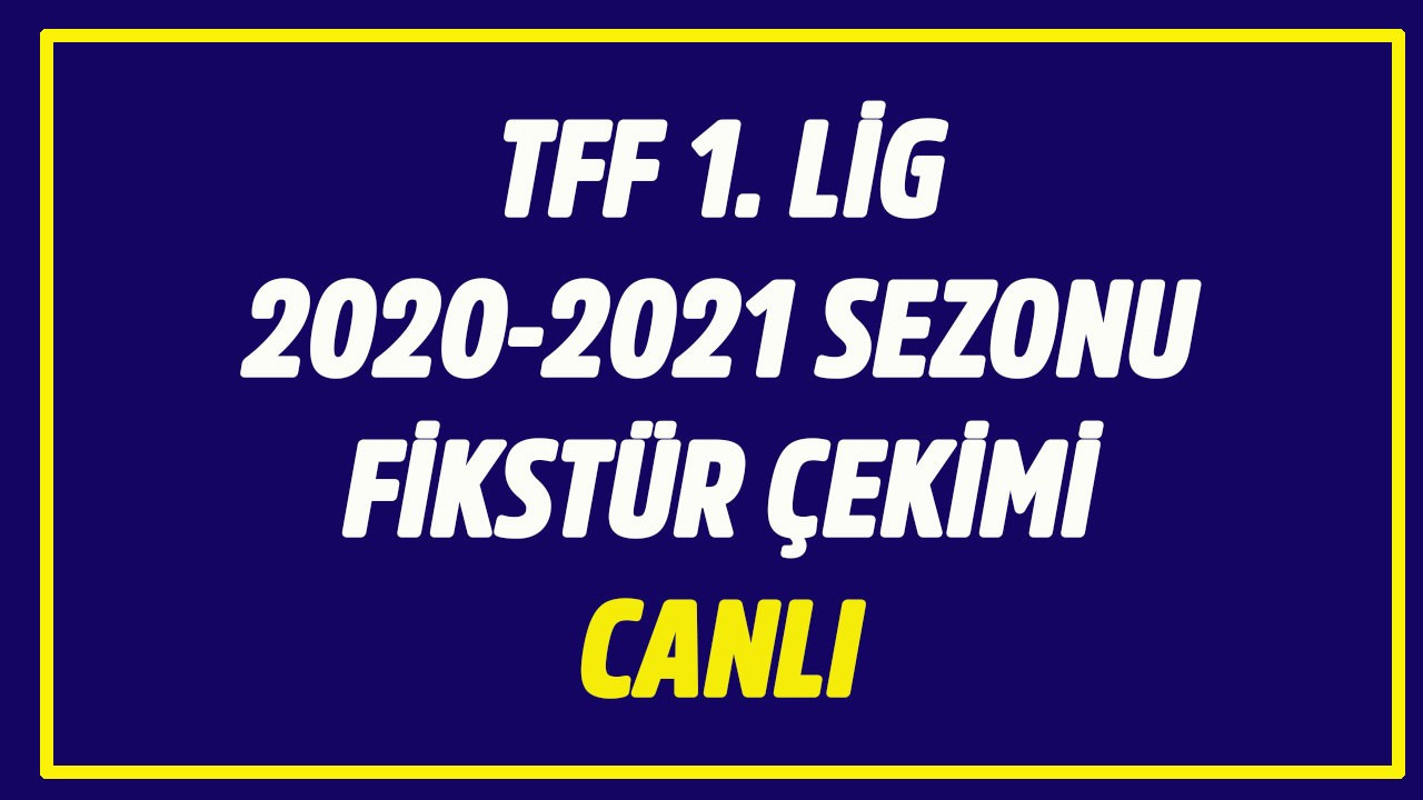 Süper Lig fikstür çekimi CANLI İZLE