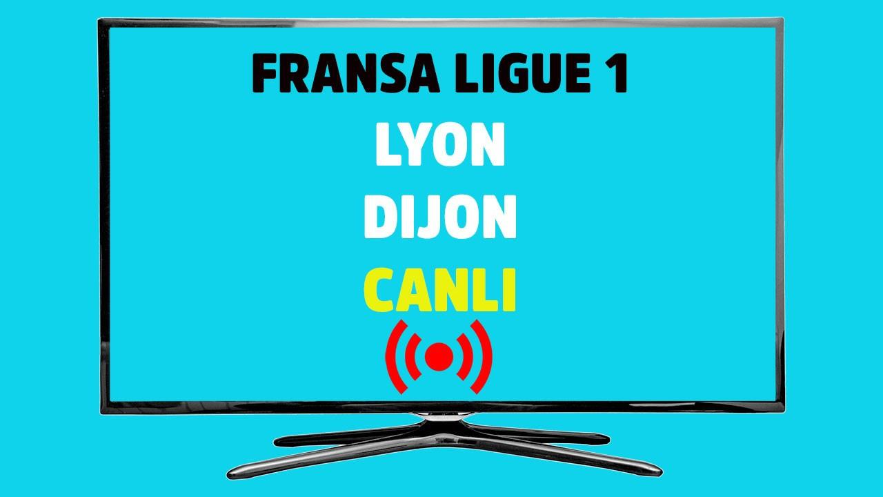 Lyon - Dijon CANLI İ
