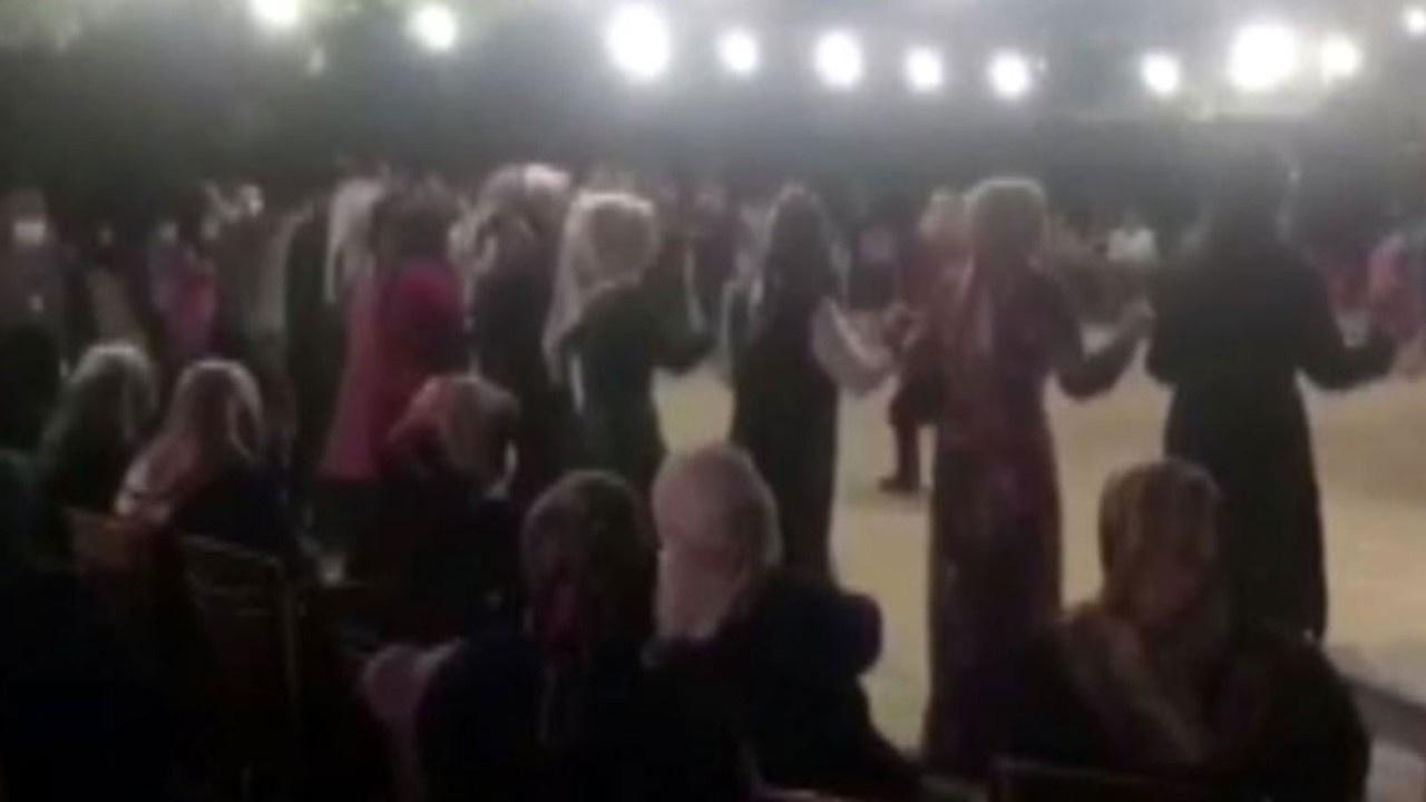 Sosyal mesafesiz düğüne 82 bin 350 lira ceza