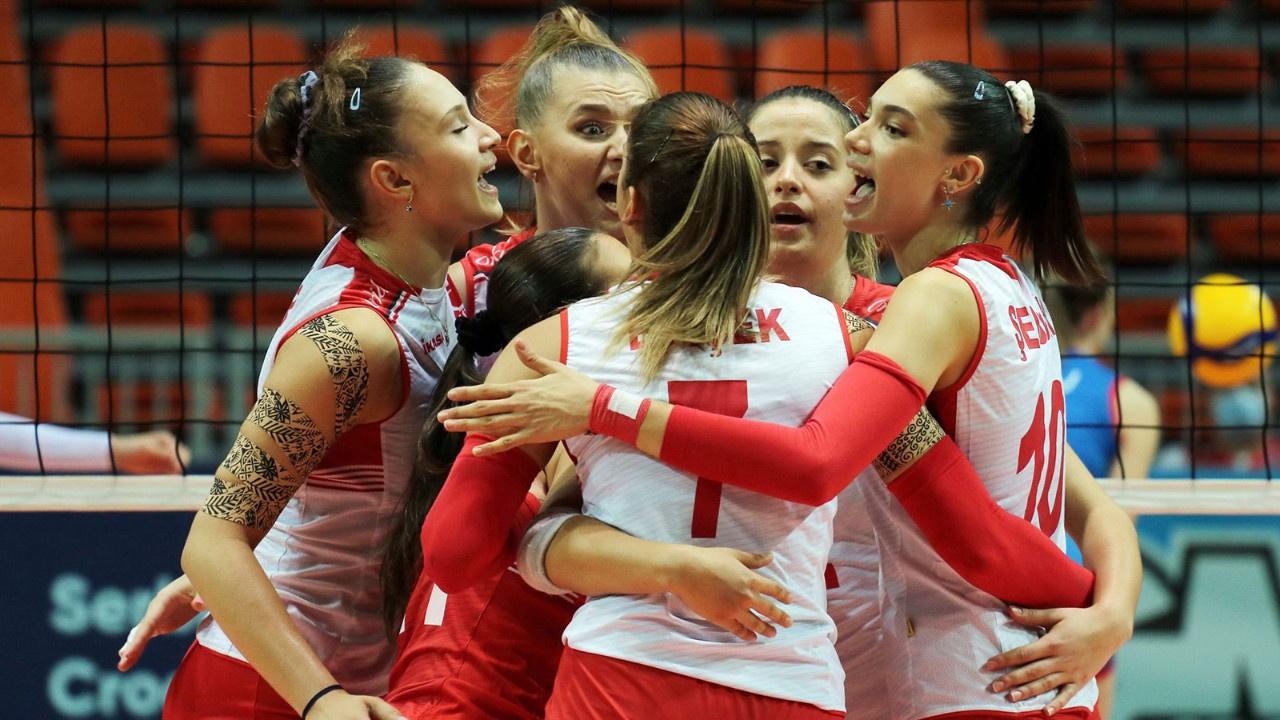 Genç kızlarımız Avrupa Şampiyonu oldu!