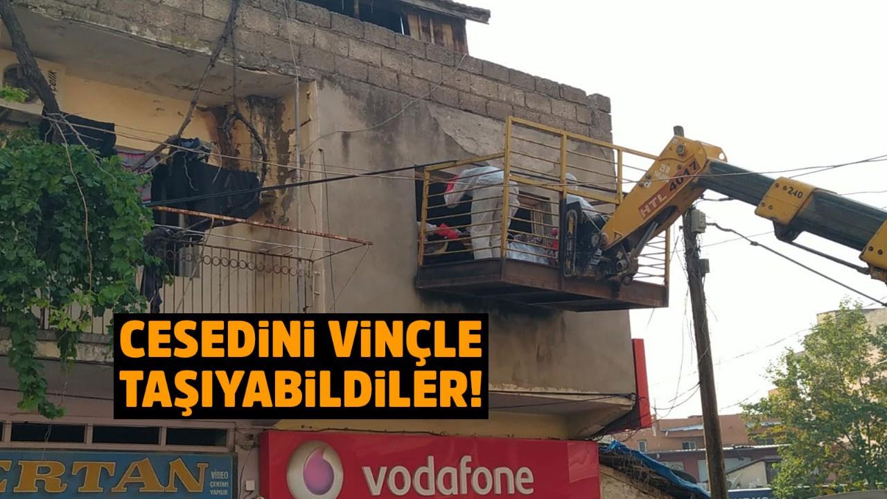 Adana'da korkunç ölüm