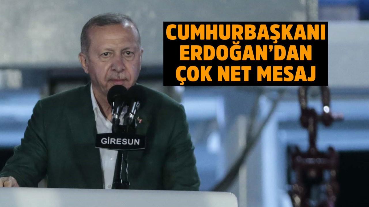 Cumhurbaşkanı Erdoğan: Korsanlığa eyvallah etmeyiz
