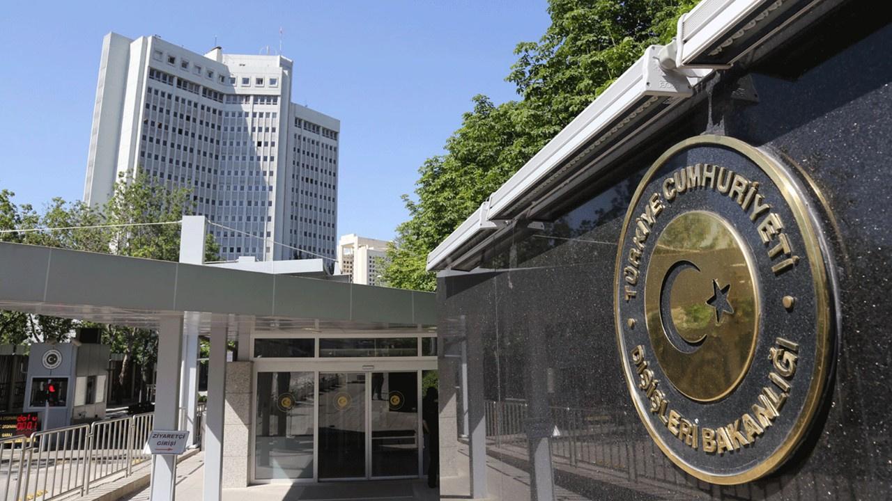 Dışişleri Bakanlığı'ndan Yunanistan'a tepki!