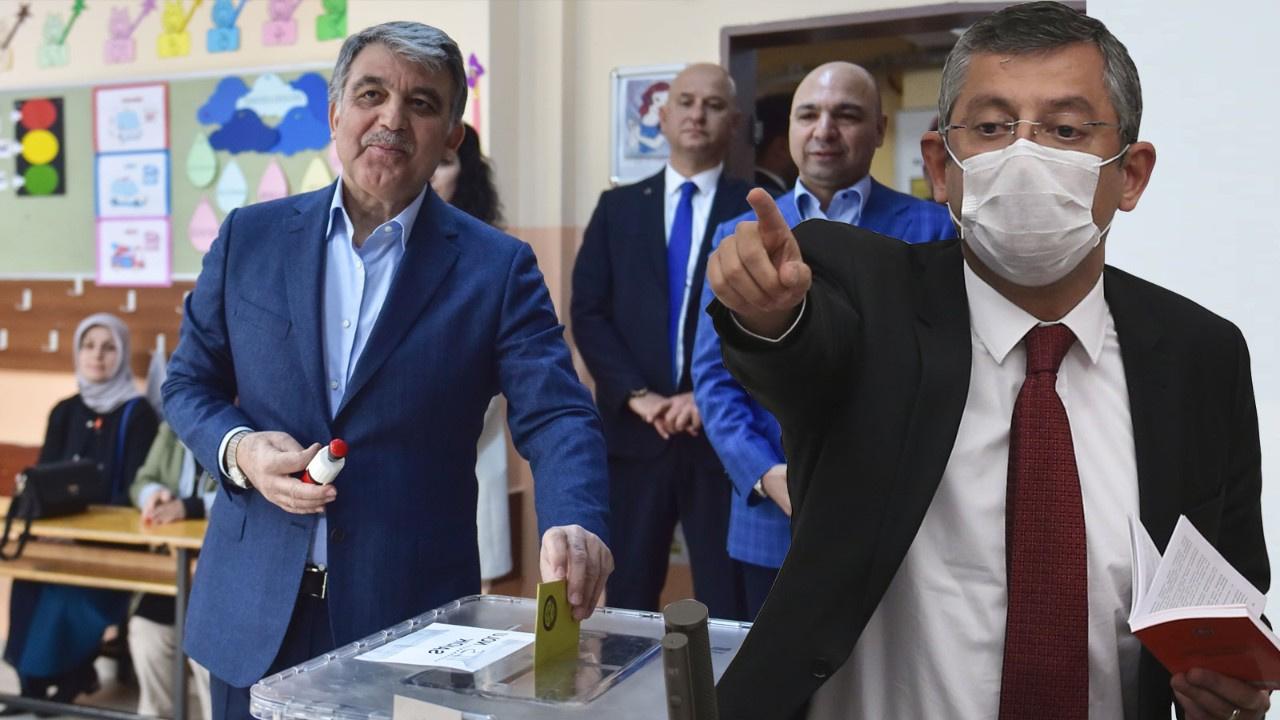 Son dakika haberi; CHP Grup Başkanvekili Özgür Özel'den Abdullah Gül açıklaması