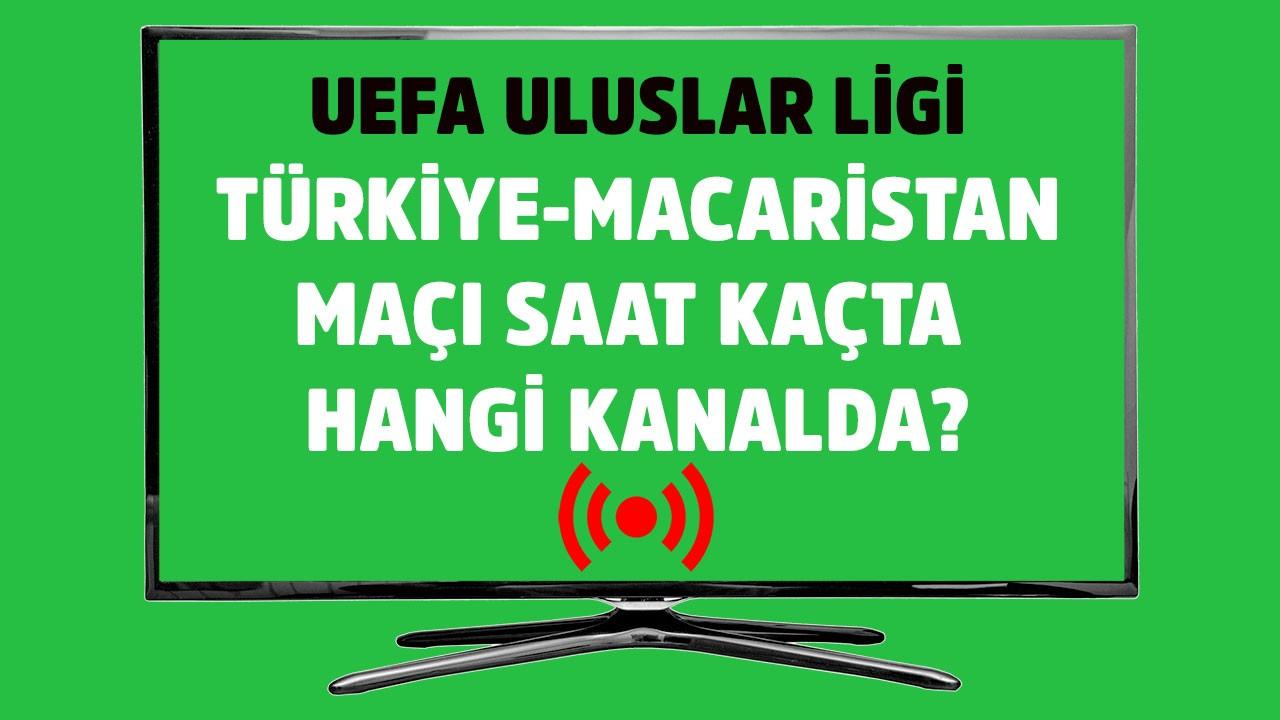 Türkiye Macaristan maçı saat kaçta hangi kanalda?