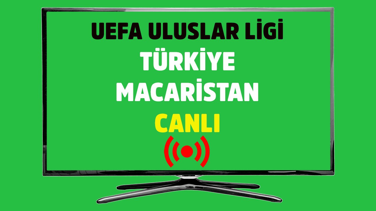 Türkiye - Macaristan CANLI