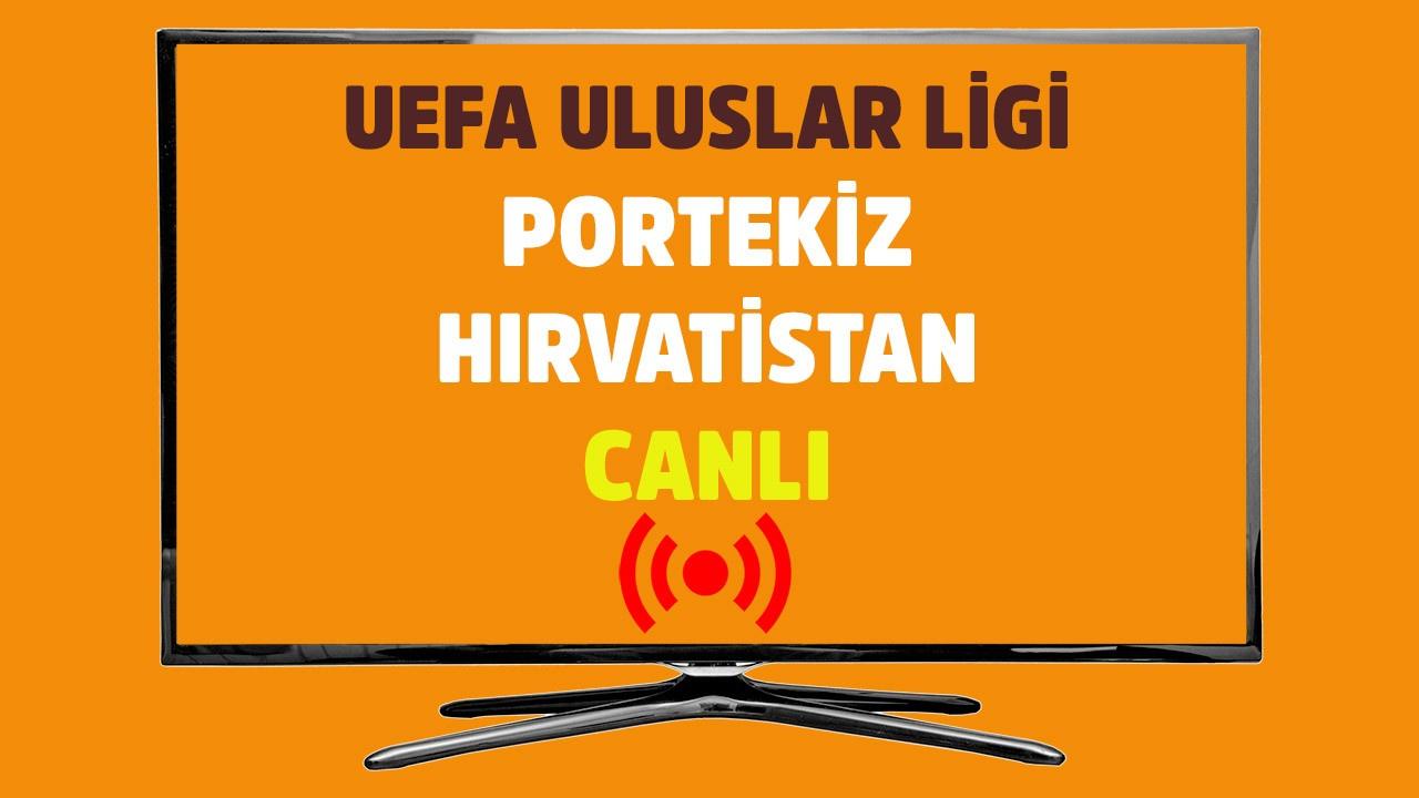 Portekiz - Hırvatistan CANLI