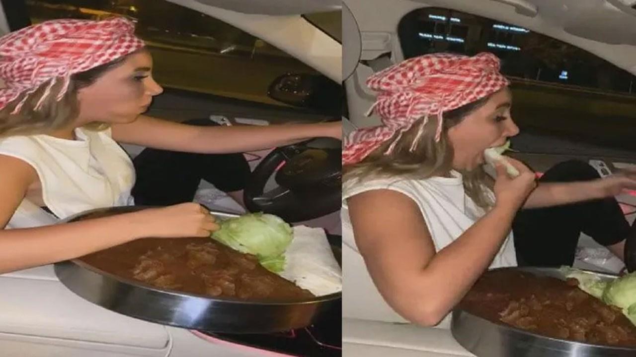 Trafikte çiğ köfte yemenin cezası 132 lira