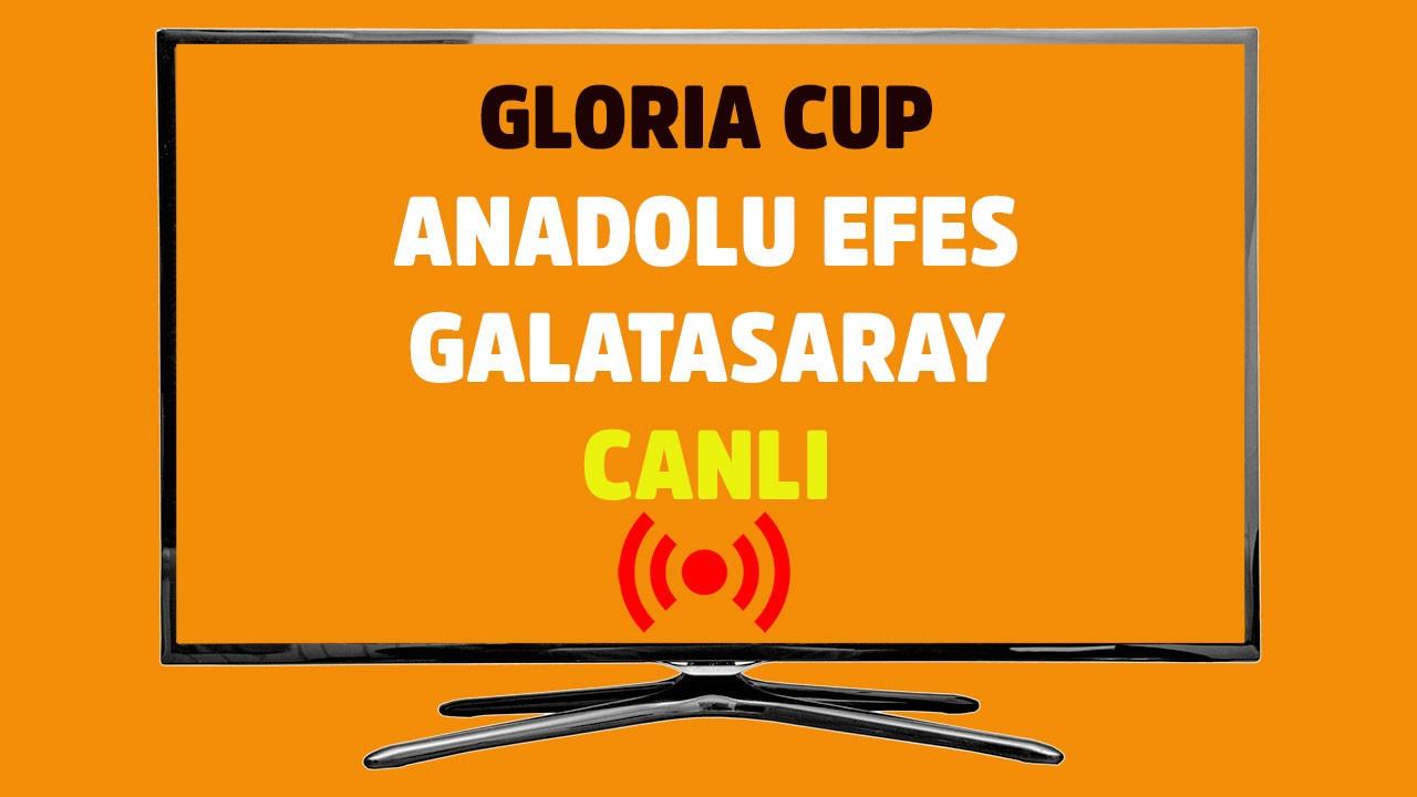 Anadolu Efes - Galatasaray CANLI