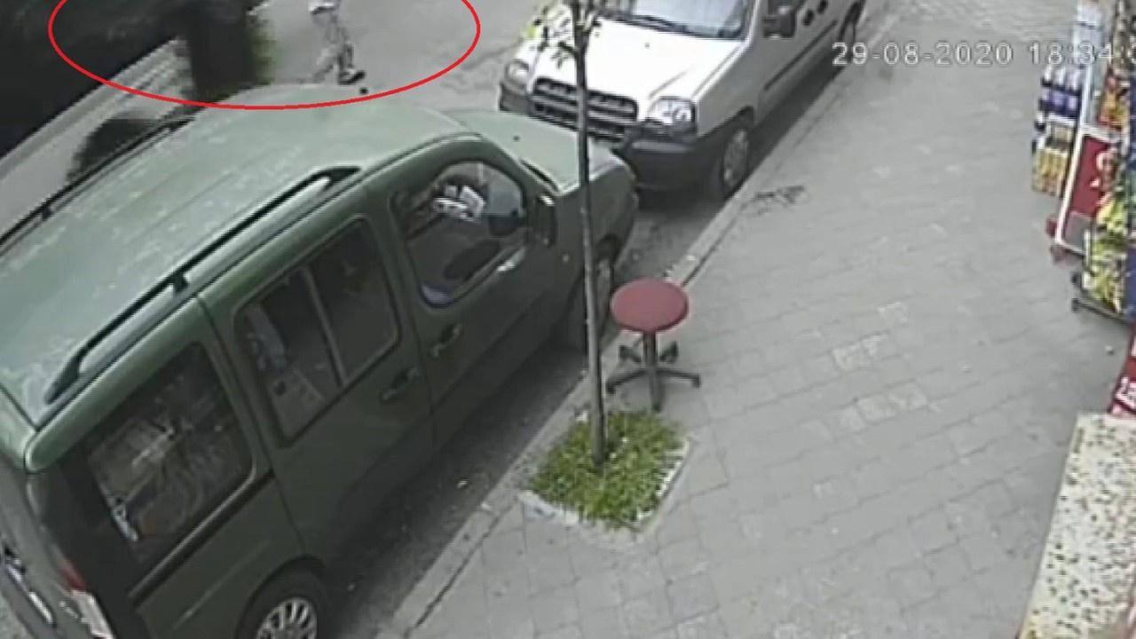 Otobüs yaşlı adama çarptı, ölüm böyle teğet geçti